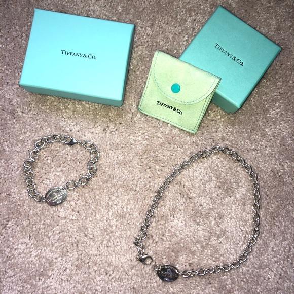 Tiffany & Co. Jewelry - Tiffany & Co. matching necklace and bracelet